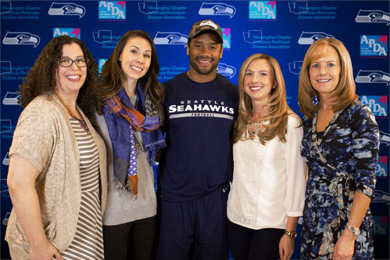 Washington Parkinsons Russell Wilson